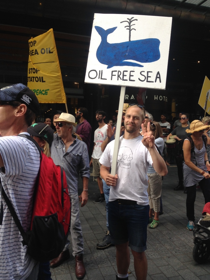 March to stop deep sea oil